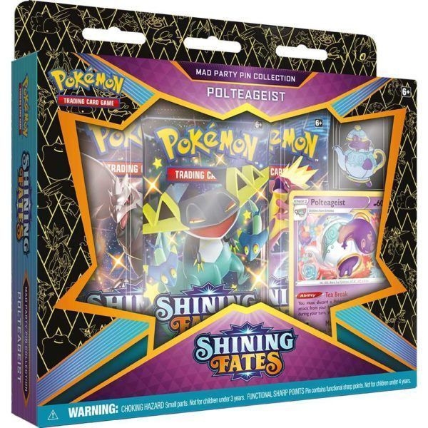 Pokemon TCG: Shining Fates Mad Party Pin Collection Variant 2