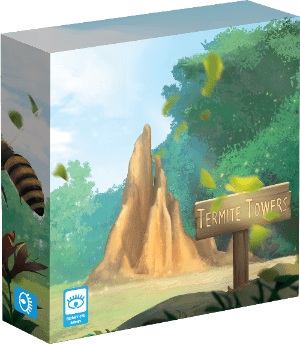 Termite Towers Board Game Cover