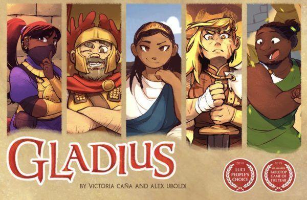 Gladius Card Game - Cover