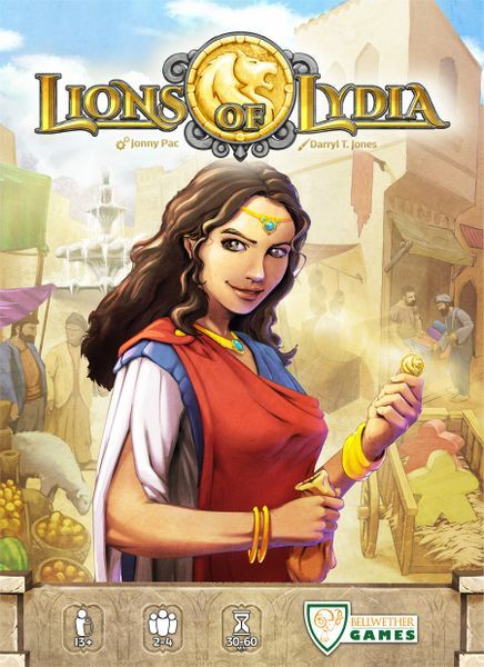 Lions of Lydia cover