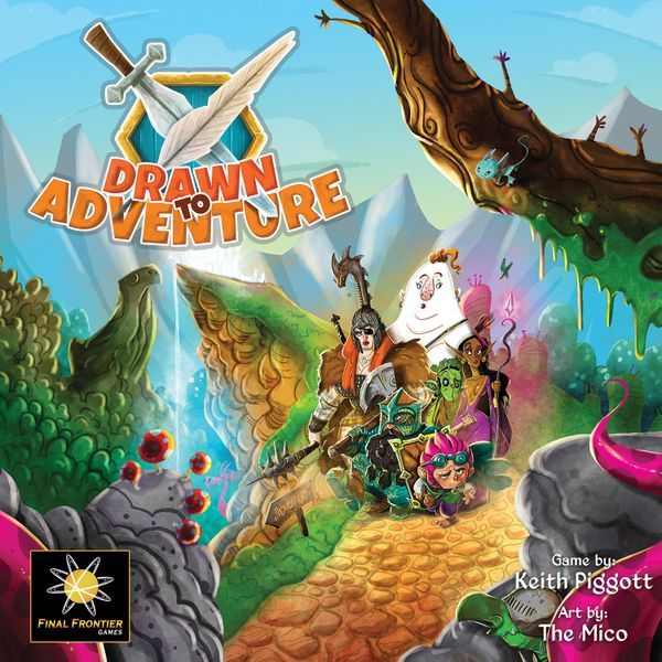 Drawn To Adventure cover