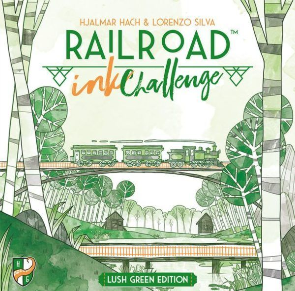 Railroad Ink Challenge Lush Green Edition cover
