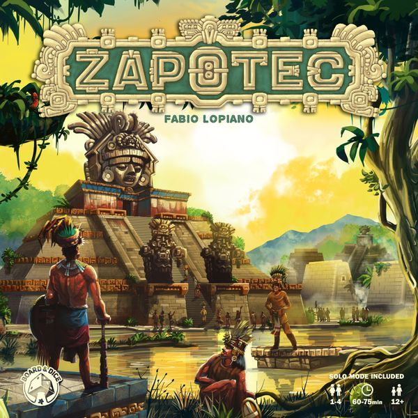 Zapotec Board Game cover