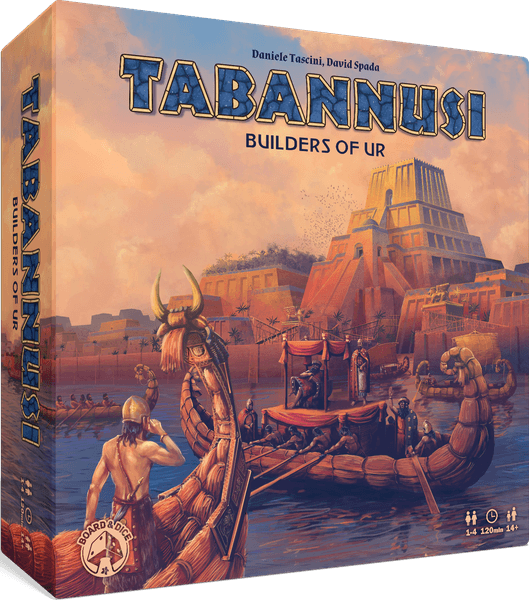 Tabannusi Builders of Ur board game cover