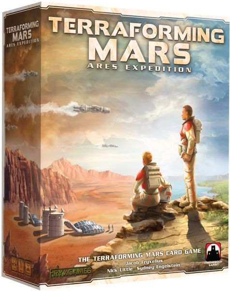 Terraforming Mars Ares Expedition cover