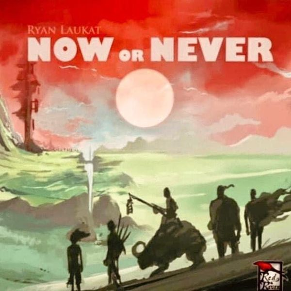 Now or Never Board Game cover