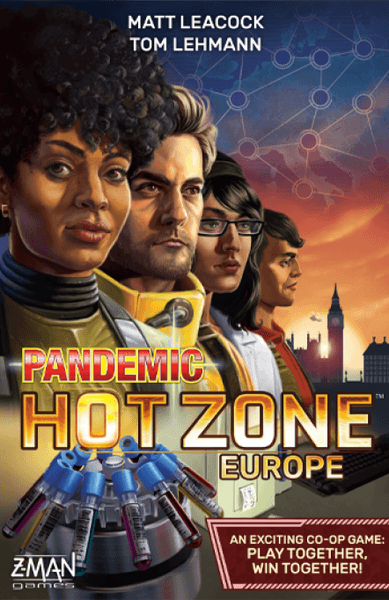 Pandemic Hot Zone Europe cover