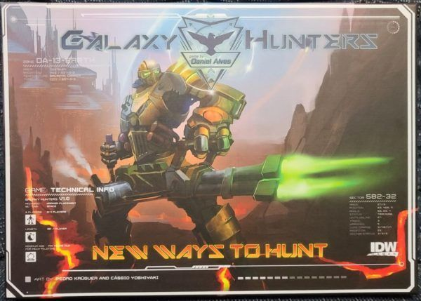 Galaxy Hunters New Ways to Hunt cover