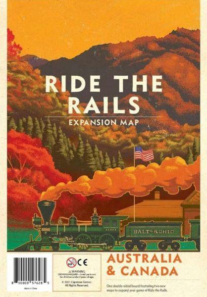 Ride the Rails Australia & Canada cover
