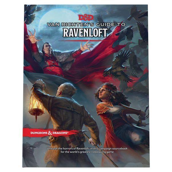 Van Richten's Guide to Ravenloft cover