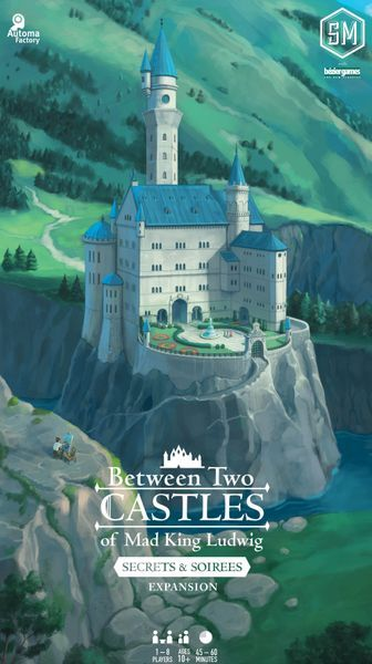 Between Two Castles Secrets and Soirees Expansion cover