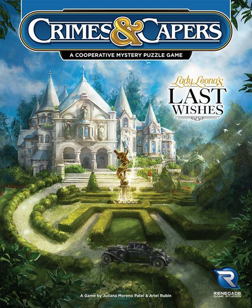 Crimes and Capers Lady Leona's Last Wishes cover