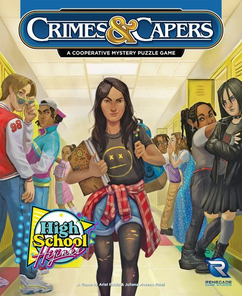 Crimes and Capers: High School Hijinks cover