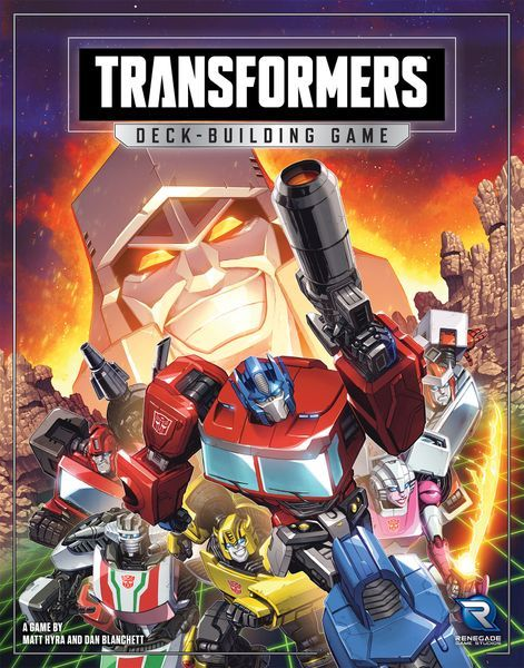 Transformers Deck-Building Game cover