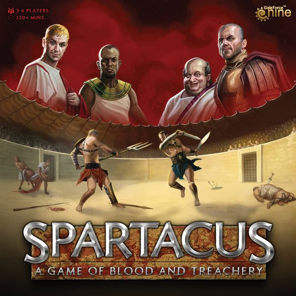 Spartacus A Game of Blood and Treachery (2nd Edition / 2021) cover