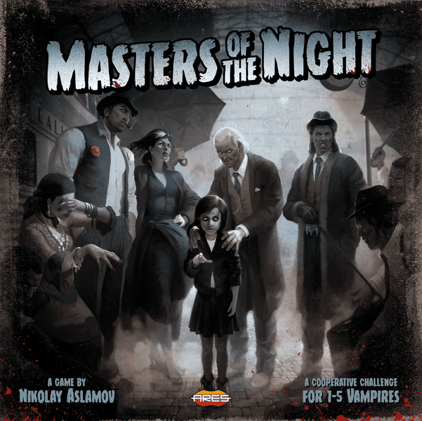 Masters of the Night Board Game cover