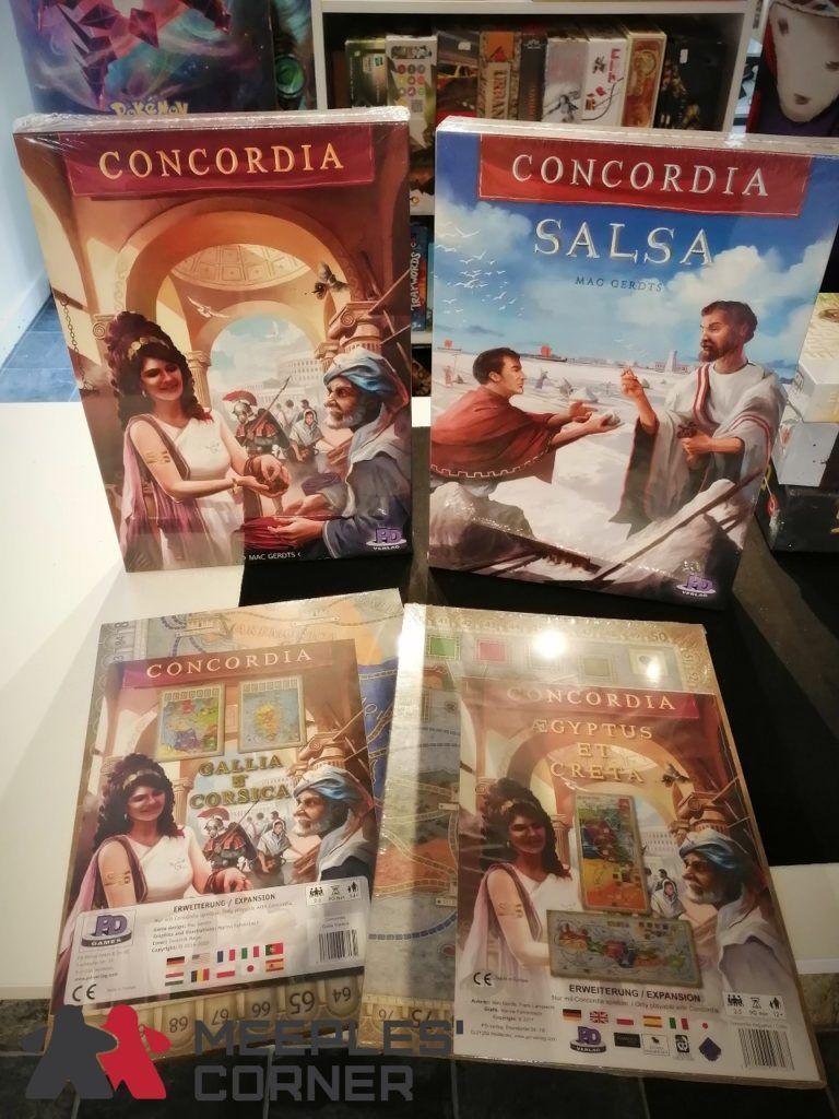 Concordia Restock