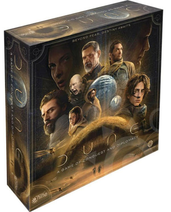 Dune A Game of Conquer and Diplomacy cover