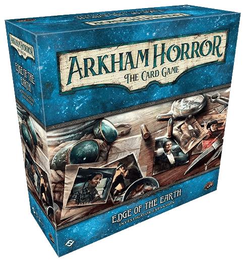 Arkham Horror Edge of the Earth Investigator Expansion