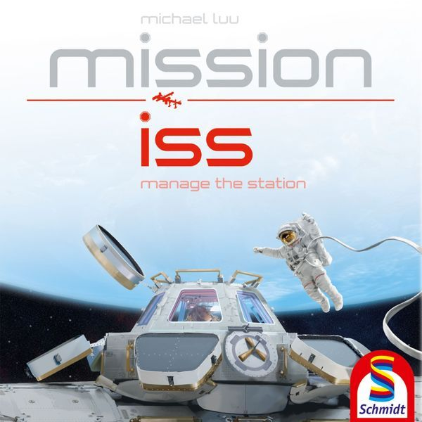 Mission ISS board game cover