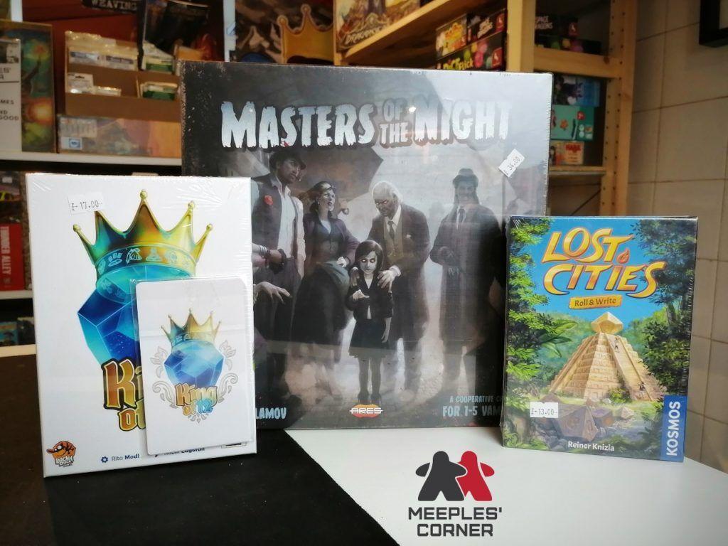 Three new board games