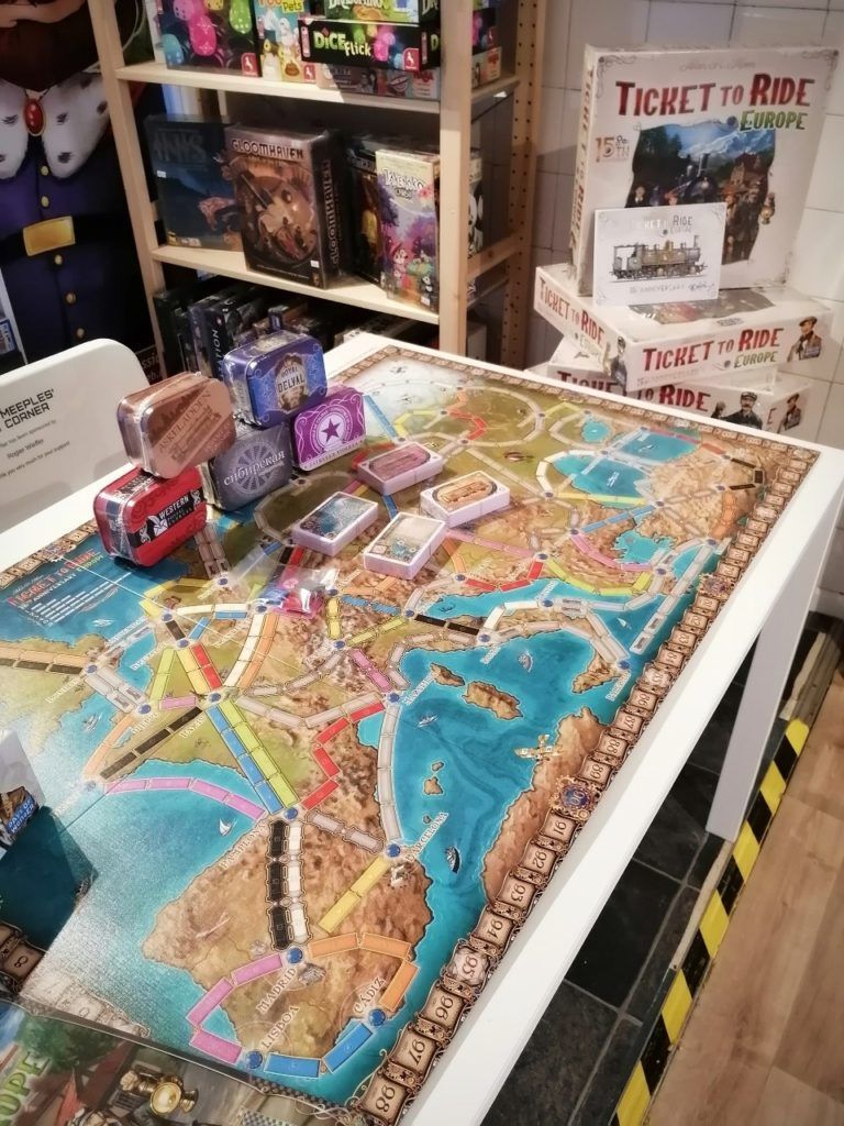 Ticket to Ride Europe 15th Anniversary demo copy
