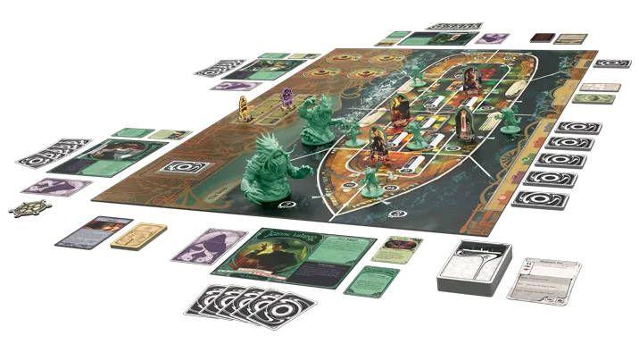 Unfathomable board game setup