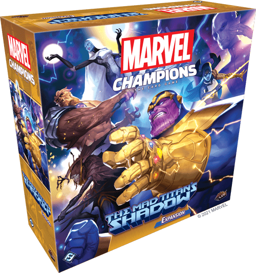 Marvel Champions The Mad Titan's Shadow box