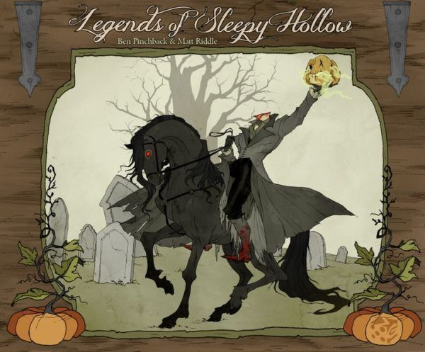 Legends of Sleepy Hollow Board Game Cover