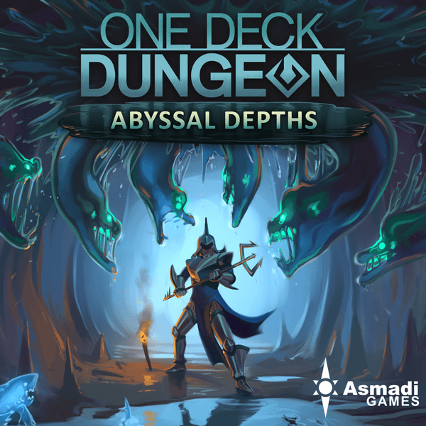 One Deck Dungeon Abyssal Depths cover