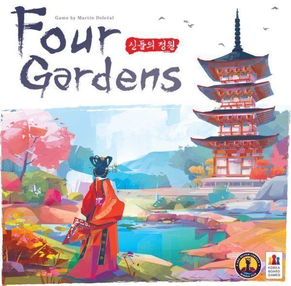 Four Gardens cover