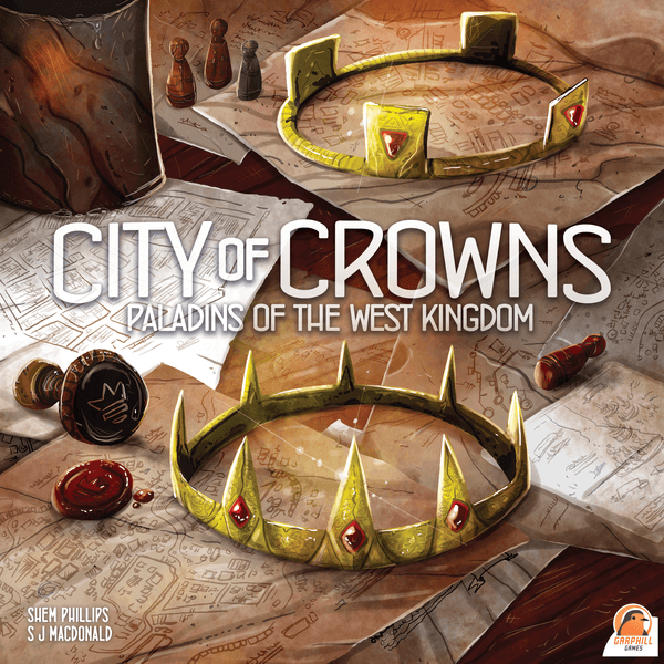 Paladins of the West Kingdom City of Crowns cover