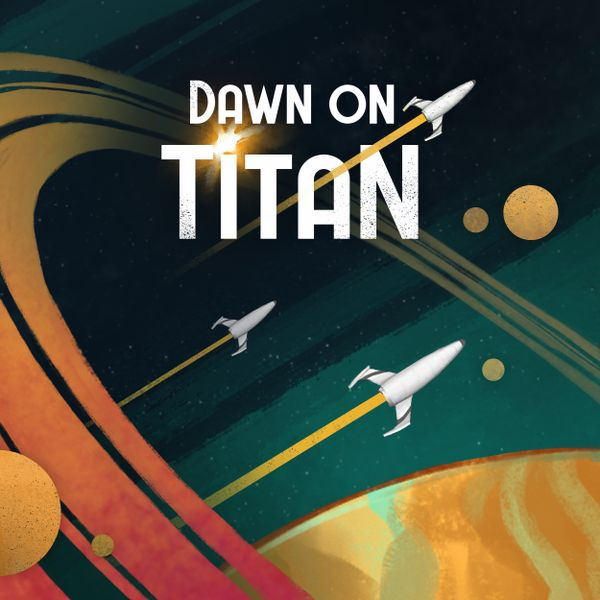 Dawn on Titan cover