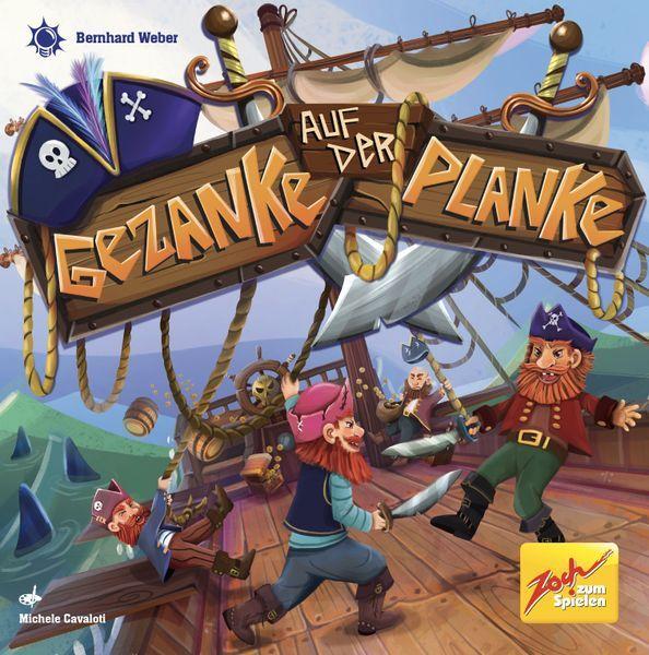 Gezanke auf der Planke (Zoch / 2021) cover