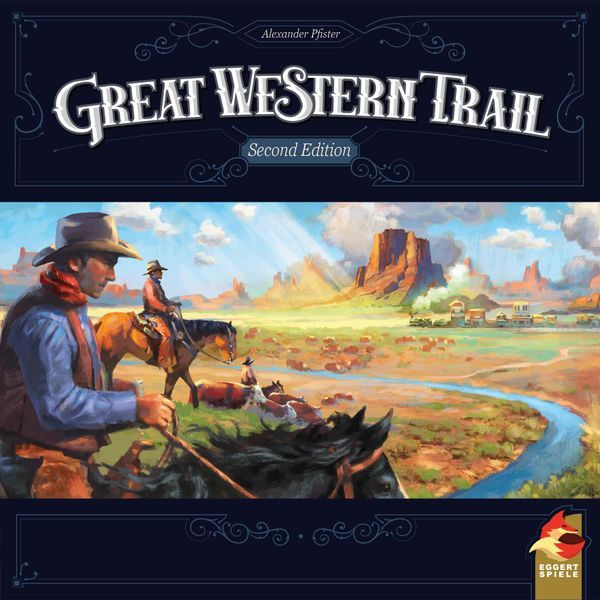 Great Western Trail Second Edition cover