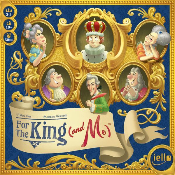 For the King and Me cover