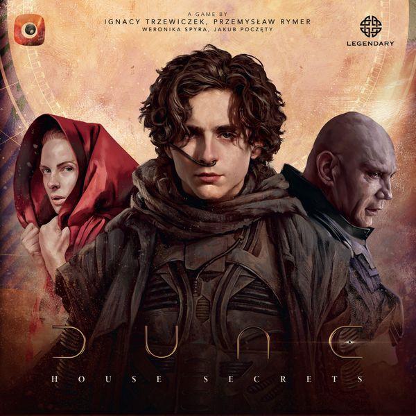 Dune House Secrets box artwork