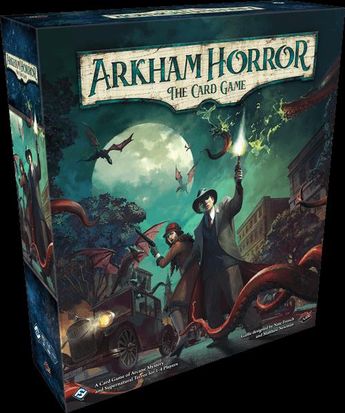 Arkham Horror Card Game Revised Core Set artwork