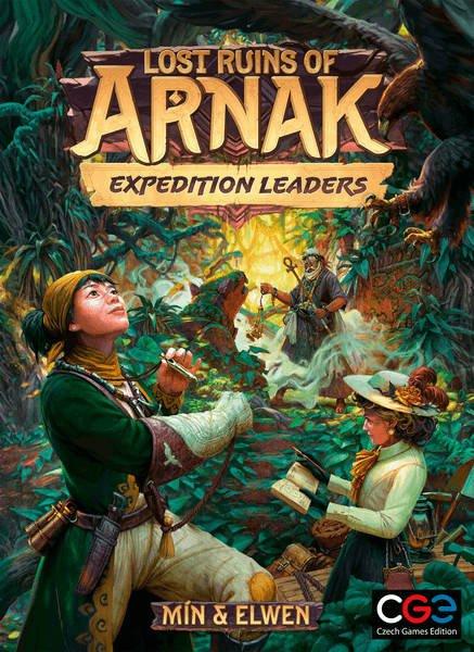Lost Ruins of Arnak Expedition Leaders box artwork