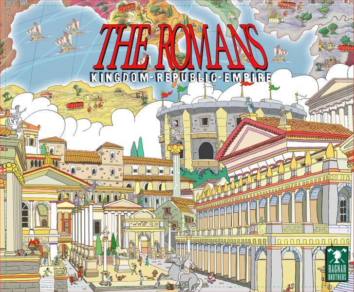 The Romans Board Game box artwork