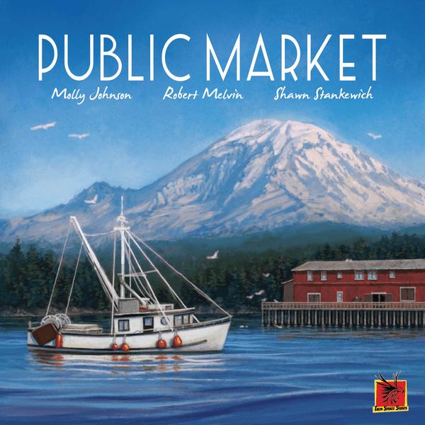 Public Market Board Game cover artwork