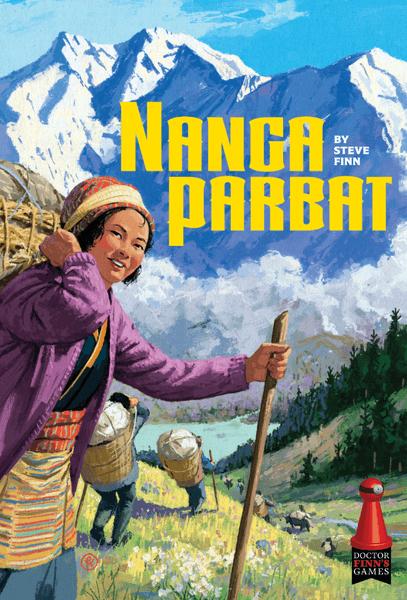 Nanga Parbat Board Game box artwork