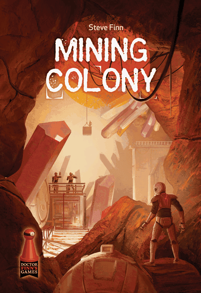 Mining Colony Board Game artwork cover