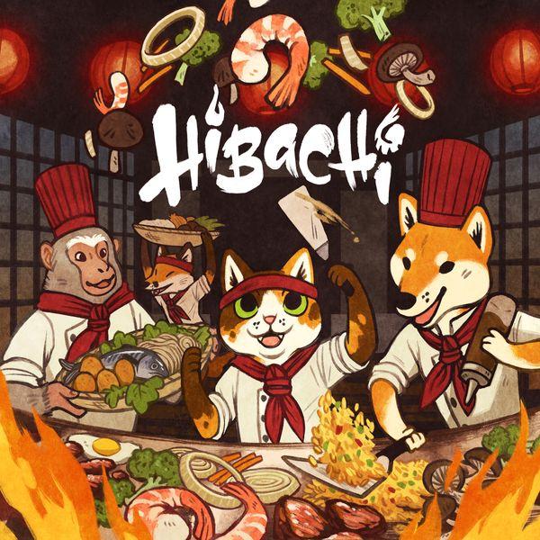 Hibachi Board Game box artwork