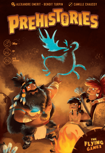 Prehistories board game cover artwork