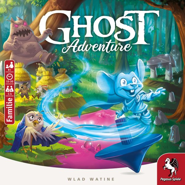 Ghost Adventure Board Game cover artwork