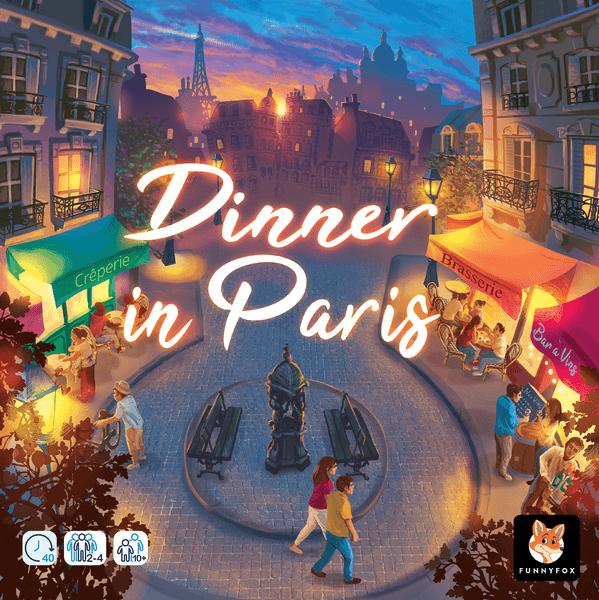Dinner in Paris Board Game cover artwork