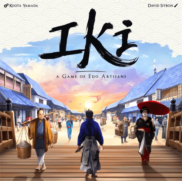 IKI A Game of EDO Artisans cover artwork