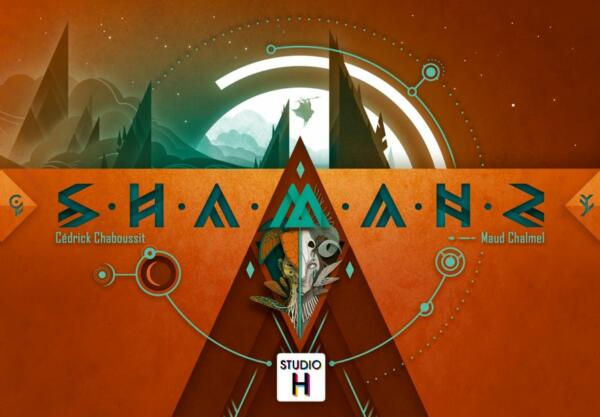 Shamans board game cover artwork