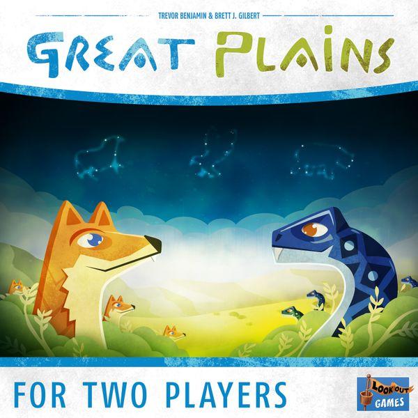 Great Plains Board Game artwork